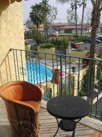 Hotel Pepper Tree: view from balcony