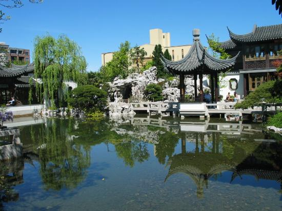 A Chinese Garden In The Heart Of The City Picture Of Lan Su Chinese Garden Portland Tripadvisor