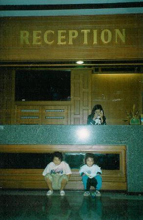 Royal Twins Palace Hotel: la réception
