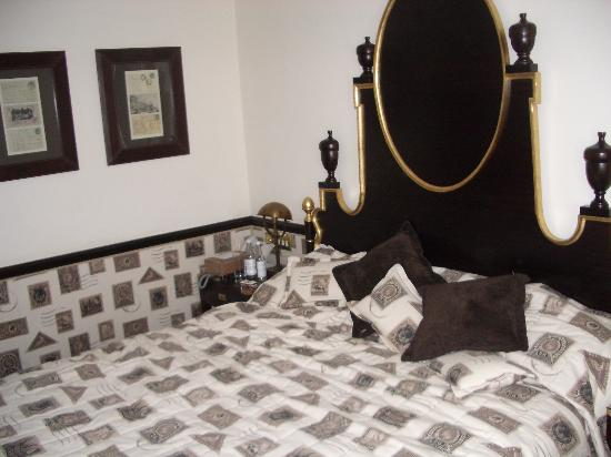 The Chesterfield Mayfair: The large bed...