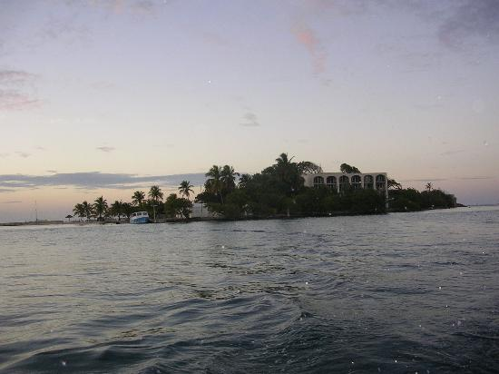 View of the Hotel on the Cay