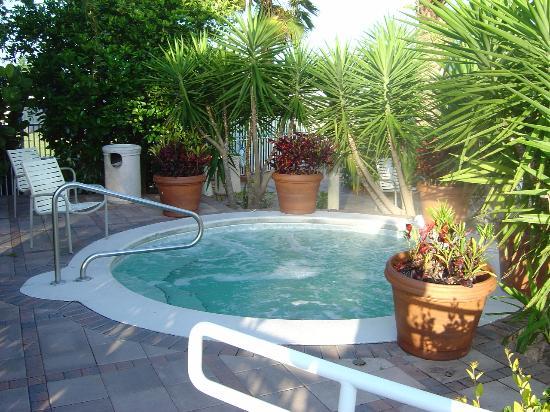 The very nice hot tub
