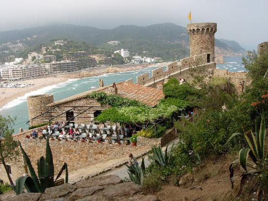 Tossa de Mar, Spanien: View from the Vila Vella