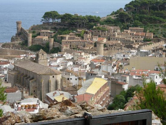 Tossa de Mar, Spanien: View from La Torre dels Moros