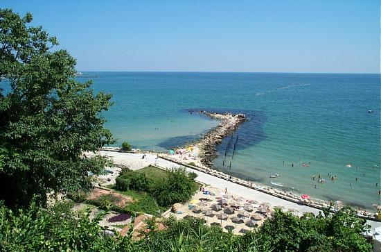 Nessebar, Bulgaria: Albena in summer.