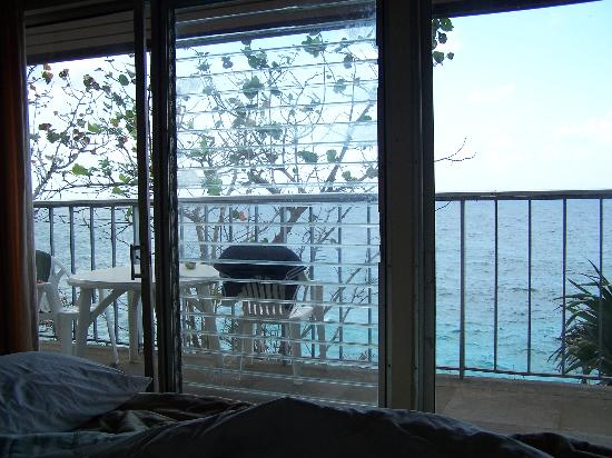 Frenchman's Cove Resort : View from our bedroom (Villa #5)