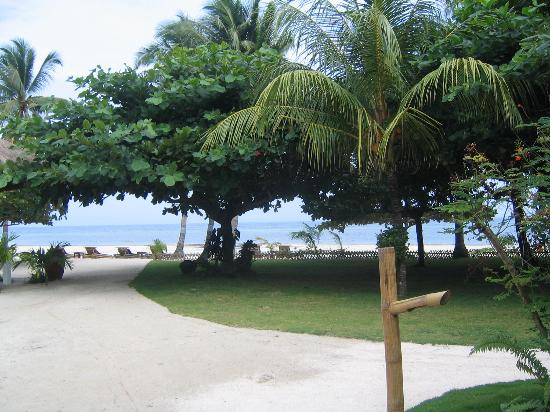 The Ananyana Beach Resort & Spa: View from our room