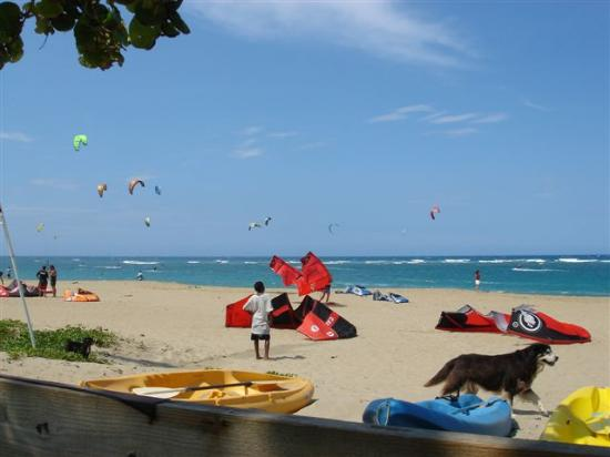 Agualina Kite Resort: Kite Beach