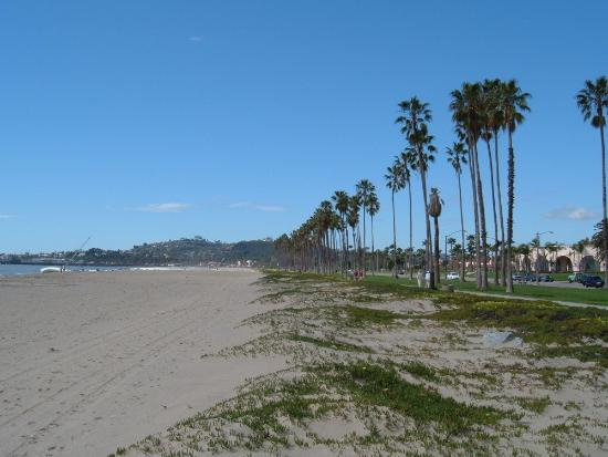 Santa Barbara, Califórnia: The beach