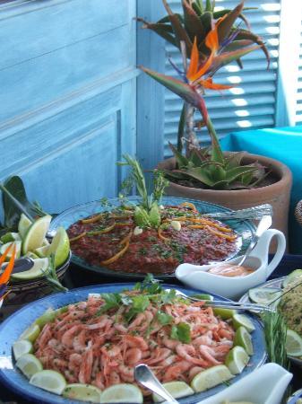 L'Heure Bleue Palais : the buffet