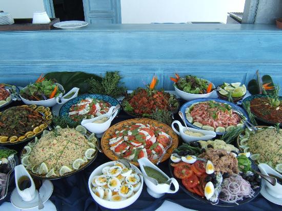 L'Heure Bleue Palais : buffet