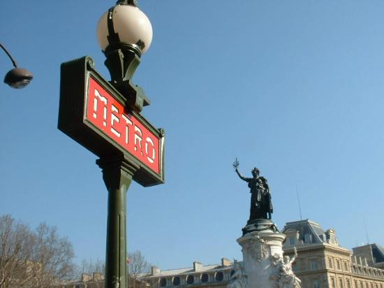 Paris, Fransa: Place de Republique