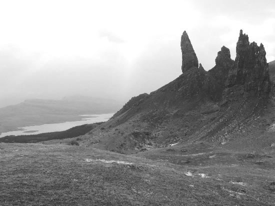 Isle of Skye, UK: Old Man of Storr