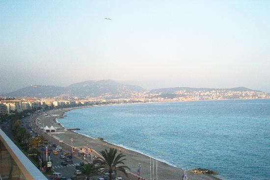 Radisson Blu Hotel, Nice : View of the French Riviera on the top of the SAS Radisson Hotel