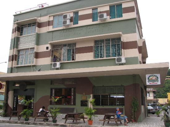Kota Kinabalu, Malaisie : Borneo Museum Kopitiam (Coffee House)