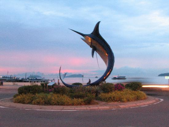 Kota Kinabalu, Malaysia: Swordfish Statue