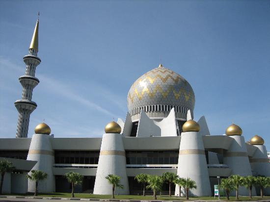 Κότα Κινάμπαλου, Μαλαισία: Sabah State Mosque