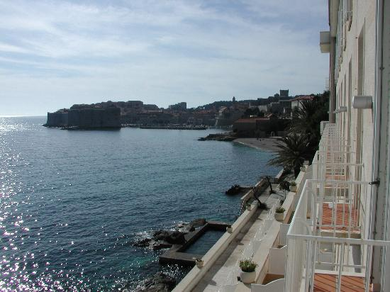 Hotel Excelsior Dubrovnik: room with a view