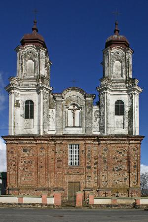 Dotnuva Church and Monastery of the Lord Revelation for St. Mary the Virgin: Church