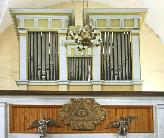 Kaunas, Lithuania: One of the largest organs in Lituania