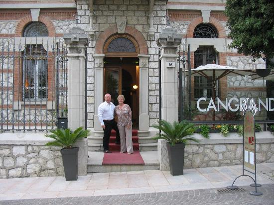 Cangrande Hotel: Two happy visitors