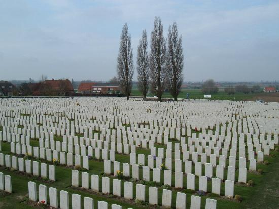 West Flanders Province, Belgium: British Cemetary