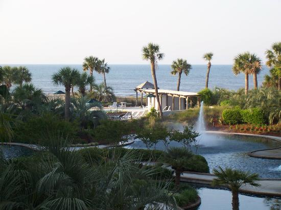 Sea Crest Villas: view from balcony