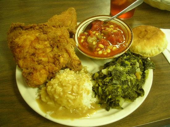 Hoskins Restaurant: Fried Chicken lunch