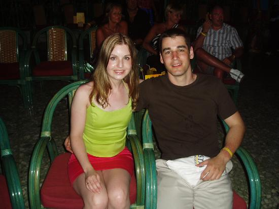 My Girlfriend And I At The Night Show Picture Of Iberostar Costa