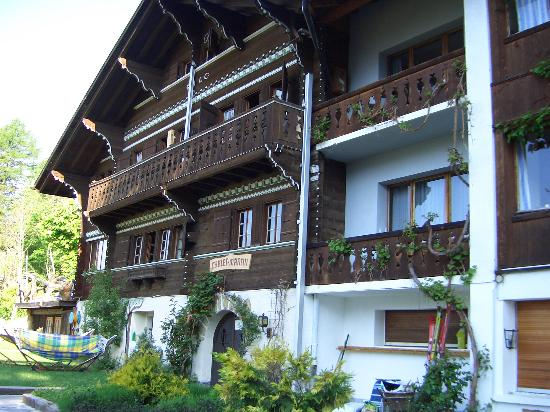 The front of Chalet Martin