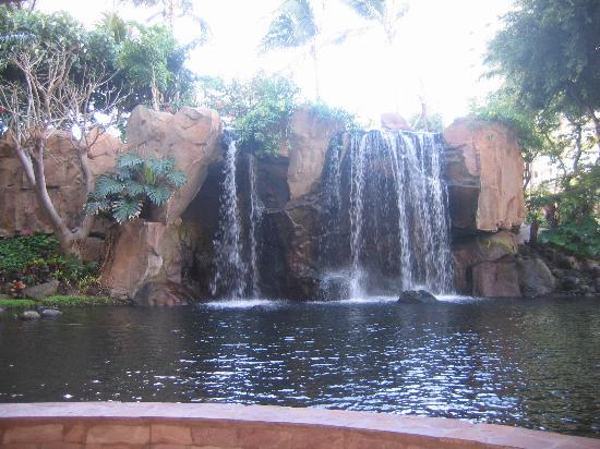 Westin Maui Resort And Spa: Waterfall at the Westin