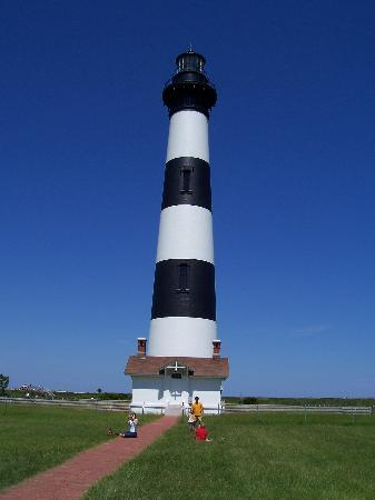Outer Banks, Carolina del Nord: Peaceful Bodie Island Lighthouse