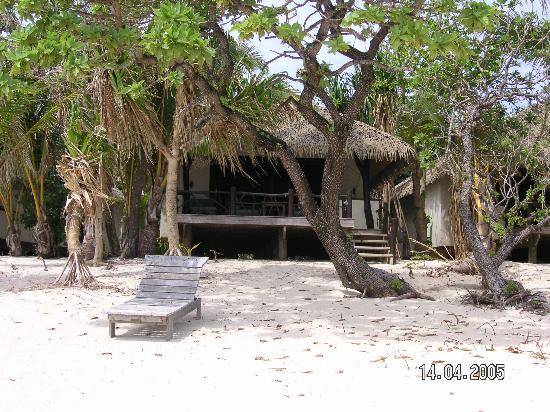 Pacific Resort Aitutaki: Beach front bungalow