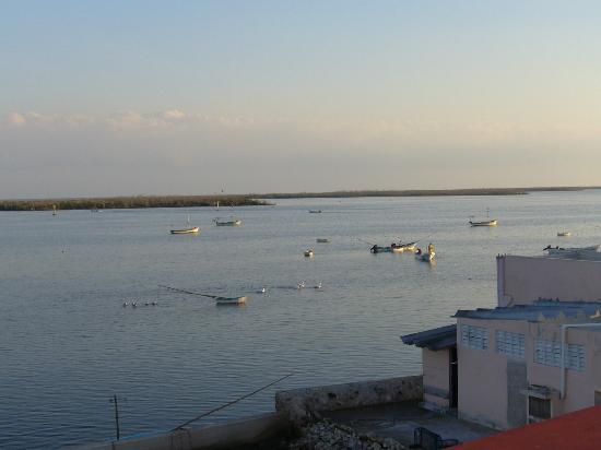 Searoom view overseeing San Felipe Harbor