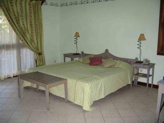 Le Sakoa Hotel : The bed of sakoa