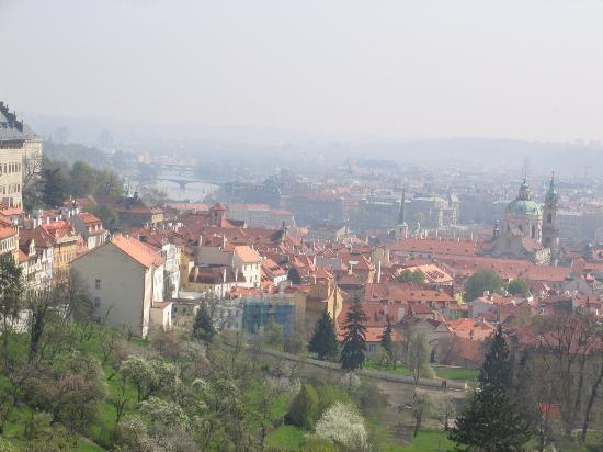 Le Palais Art Hotel Prague: View of Prague from the Castle