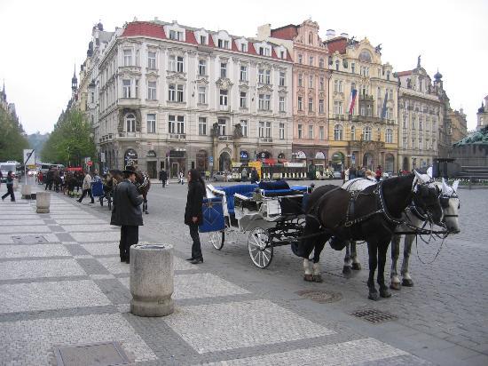 Le Palais Art Hotel Prague: Staromestske Square