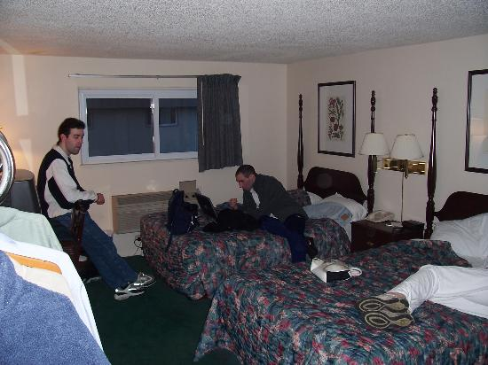 Elk Grove Village, IL: Bedrooms were best part