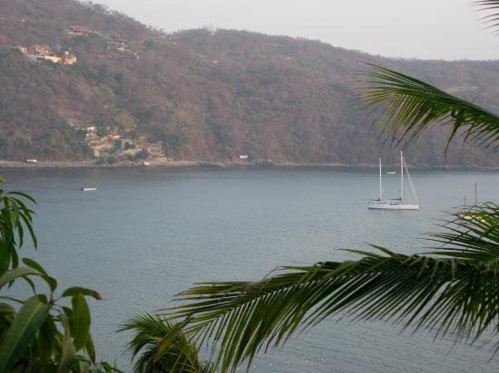 Catalina Beach Resort: View from terrace