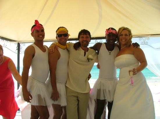 "Iberostar Varadero: Some of the star friends ""crashed"" our wedding :o)"