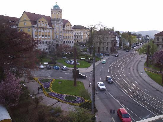 Days Inn Kassel Hessenland: View from Mercure, Kassel, window