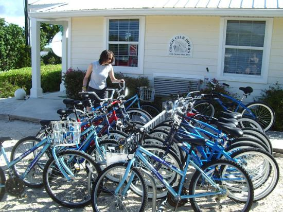 Conch Club Condominiums: Just grab a bike.