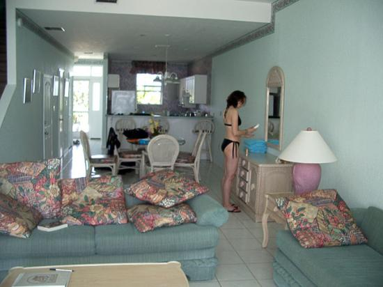 Conch Club Condominiums: See old lady 80s decor. But its clean. Very nice.