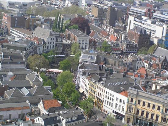 Utrecht, The Netherlands: View on the centre
