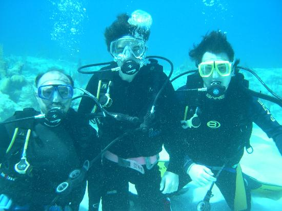 Harbour Club Villas & Marina: Us scooba diving