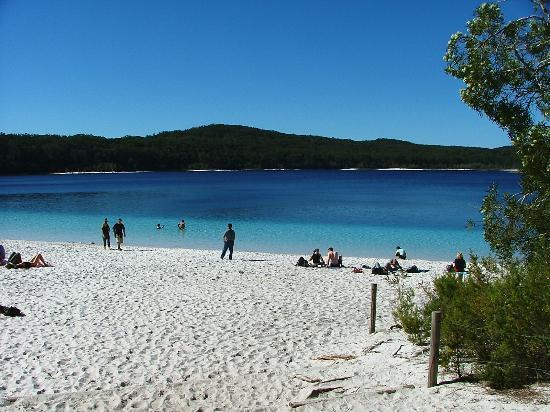 Fraser Island, Australia: Uncomparable Lake McKenzie