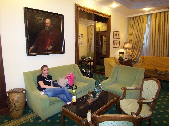 Hotel Imperiale: lounge