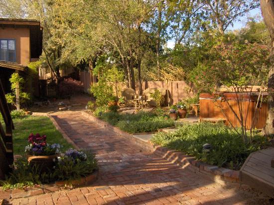 Alexander's Inn: garden