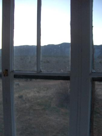 Mabel Dodge Luhan House: dawn view from solarium