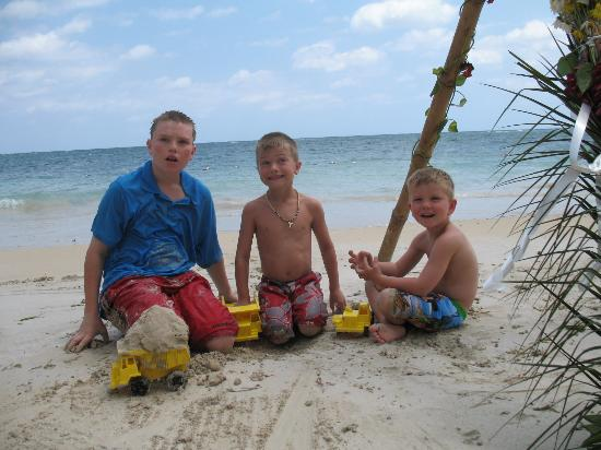 my boys on the beach - Picture...